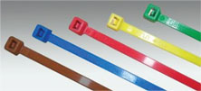 DOT Coloured Nylon Cable Ties