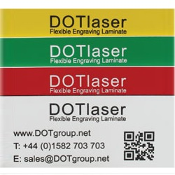 DOTlaser Flexible Engraved Labels